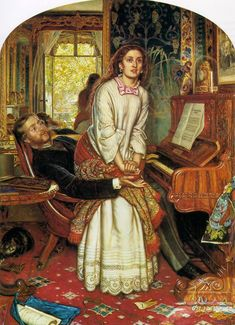Awakening Conscience, by William Holman Hunt