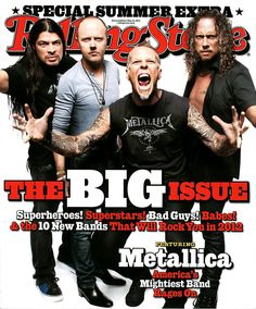 METALLICA ROLLING STONE BIG ISSUE COVER