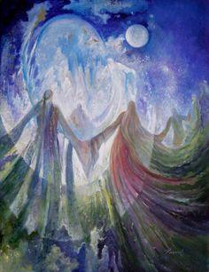 """JOY OF UNION  Oil on Canvas - 30"""" x 40""""   © 2009    Rassouli Art Studio"""
