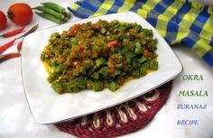 Spicy Okra/Bhendi Masala/Derosh Bhaji