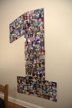 1st birthday photo idea.....OMG LOVE LOVE LOVE this idea & totally doing this
