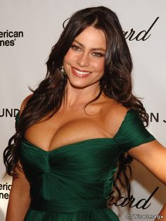 Sofia Vergara --- so happy this talented Bilingual star is on Mainstream TV - this is what America is made of. PS...America, or the Americas means South, Central & North America. Sofia started on Spanish-language and now Mainstream English programming has discovered this beauty, talent and humor all in one.