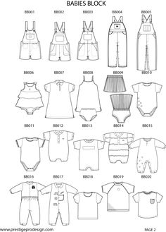 New baby fashion illustration 31 Ideas Flat Drawings, Flat Sketches, Fashion Design Template, Fashion Templates, Fashion Vector, Children Sketch, Fashion Dictionary, Fashion Vocabulary, Drawing Clothes