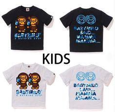 45d9f5fe A BATHING APE BAPE KIDS ABC MILO ICE POP SUMMER TEE 2colors From Japan New #