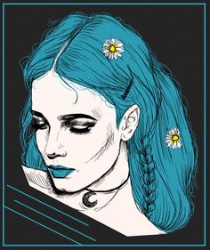 HALSEY (amazing fan art by paintparamore on tumblr)