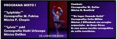 El nuevo Ballet Nacional Dirigido por Iñaki Urelzaga como Director General y Artístico, hará su estreno junto a la Camerata de San Juan.en Teatro Cosliseo. Las funciones serán los días 28, 29 y 30 de Marzo y 1, 2 y 3 de Abril a las 20.30 hs