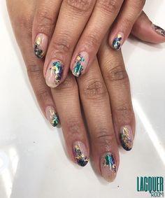 By @m_rielj #LacquerRoom #nails #nailart #manicure #naturalnails #gelmanicure #nailporn #geldesign #TeamLacquerRoom