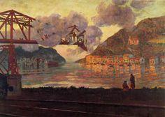 Darío de Regoyos y Valdés - El puerto de Pasajes