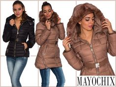 16 October, Winter Jackets, Fashion, Winter Coats, Moda, Winter Vest Outfits, Fashion Styles, Fashion Illustrations