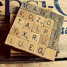 Learn how to make these Scrabble Coasters that can serve as name cards, favors, or gifts for your wedding party.