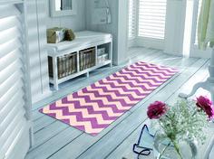 Chevron Pattern | Purple Chevron | Contemporary Floor Mats | Non-Skid Floor Mats | Studio 67 Floor Mats | Stylish Floor Mats | Designer Floor Mats | Modern Floor Mats | Fun Floor Mats