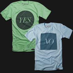 Yes/No T-Shirts