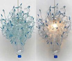Recycled Plastic Bottle Crafts | ... up plastic bottles to create interesting and whimsical pendants