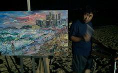 해운대의 밤