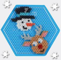 Pokemon Perler Beads, Diy Perler Beads, Perler Bead Art, Pearler Beads, Fuse Beads, Melty Bead Patterns, Hama Beads Patterns, Beading Patterns, Christmas Perler Beads
