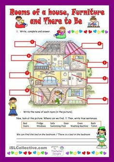 44 Best Rooms Of A House Images English Lessons Learning English