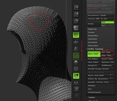 HOW TO CREATE A CHAIN MAIL HOOD IN ZBRUSH by ALEXANDER REBHOLZ In this post you will see HOW TO CREA