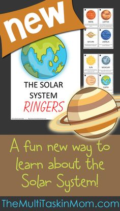 The Solar System Ringer - The Multi Taskin' Mom Planets Activities, Solar System Activities, Space Activities For Kids, Sixth Grade Science, Kindergarten Science, Teaching Science, Health And Physical Education, Science Education, Summer Science