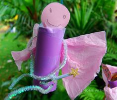 A fairy craft with magic wand