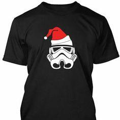 storm trooper funny christmas t shirt mens s xxxl star wars christmas christmas t - Funny Christmas T Shirts