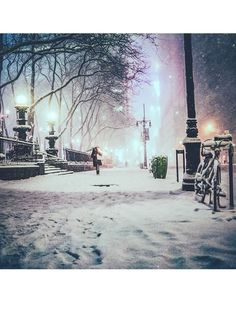 Les plus belles photos Instagram de la neige à New York 29