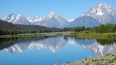 The Grand Tetons National Park. By far the most beautiful place I've visited.