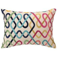 DL Rhein Metro Embroidered Pillow from @LaylaGrayce #laylagrayce #pillows #accent #new