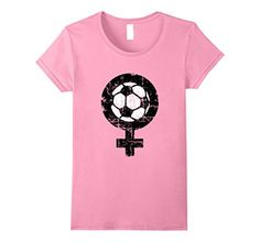 Soccer ball t-shirts for soccer women fans, women's soccer teams, sports and players. If you are interested in womens soccer, female soccer, ball, kickers, kicking, football, soccer women, ladies soccer teams, soccer jersey or jerseys, then these shirts might please you. The distressed imprint gives the shirts a nice 'used look' appearance.