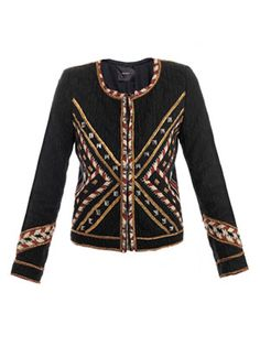 isabel marant aw12 // Hippo embroidered jacket