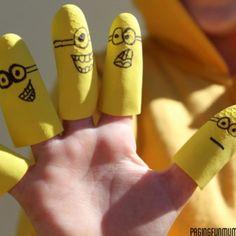 Fabrique des marionnettes avec des gants ! - Marie Claire Idées