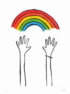 Reaching Rainbows Dallas Clayton   #PosterChildPrints