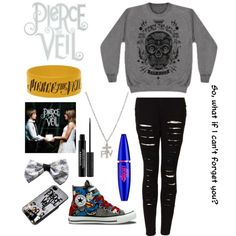 """""""Pierce the veil outfit"""" by a-love-like-war on Polyvore"""