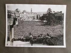 Antica-Rara-Foto-Fascismo-BENITO-MUSSOLINI-Parla-al-popolo-di-VERONA-1938