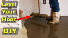 In this video we show you everything you need to know to make perfect level floor using self leveling floor compound. Use this self leveling concrete for mak. Concrete Basement Floors, Laminate Hardwood Flooring, Installing Hardwood Floors, Engineered Hardwood Flooring, Concrete Tools, Concrete Slab, Best Flooring, Diy Flooring, Self Leveling Floor