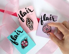 Make your own adorable lapel pins in sweet shapes using shrinky dinks! Totally…
