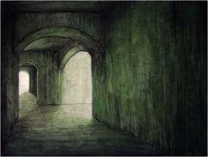 Paisaje interior, de la colección la esencia de la ausencia, del artista visual Alfredo Romero