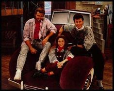 And totally wanting that badass sofa chair from My Two Dads. | 53 Things Only '80s Girls Can Understand