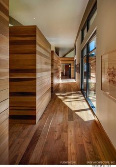 Sage Architecture have designed a contemporary vacation home in Truckee, California. From Sage Architecture The Flight House in Truckee Modern Interior Design, Interior Architecture, Wc Decoration, Modern Hall, Modern Mountain Home, Home Ceiling, Home Fashion, Living Spaces, New Homes