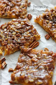 With the holidays coming up we could all use an easy dessert when entertaining guests. These Pecan Pie Bars will do the trick with ease!