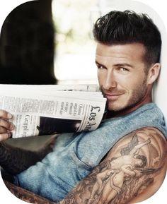 David Beckham sexy