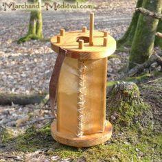 Norse Wooden lantern