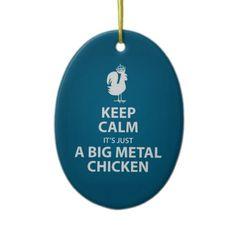 BIG METAL CHICKEN
