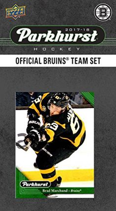 Boston Bruins 2017 2018 Upper Deck PARKHURST Series Factory Sealed 10 Card Team Set including Zdeno Chara, Patrice Bergeron, Tuukka Rask, an EXCLUSIVE Bruins team card plus plus  https://allstarsportsfan.com/product/boston-bruins-2017-2018-upper-deck-parkhurst-series-factory-sealed-10-card-team-set-including-zdeno-chara-patrice-bergeron-tuukka-rask-an-exclusive-bruins-team-card-plus-plus/  Boston Bruins 2017 / 2018 Upper Deck PARKHURST Series NHL Hockey brand new factory seal