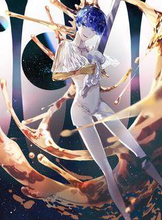 Phosphophyllite (Houseki no Kuni) Image - Zerochan Anime Image Board Manga Anime, Anime Art, Girls Twitter, Chibi, Light Novel, Magical Girl, Character Design, Illustration Art, Fan Art