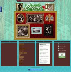 Cocomo Restaurant  is located in the heart of Wilderness. It serves as a popular local hangout due to its great food and meticulously themed interior. They approached Vertex Central to create a unique website with playful elements which still had to capture the essence of Cocomo Restaurant. #CMS #Joomla #webdesign #restaurant #food #turquoise #eclectic