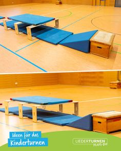 Ideas for gymnastics with children in kindergarten and in gymnastics. I want to give inspiration wit