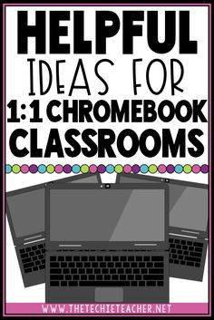 Helpful Ideas for Chromebook Classrooms Has your classroom turned into a Chromebook Classroom and you are unsure of how to utilize these devices each day? Come learn about some meaningful ways to integrate these devices into your elementary classroom! Teaching Technology, Educational Technology, Instructional Technology, Technology Humor, Technology In Classroom, Technology Posters, Technology Tools, Assistive Technology, Google Classroom