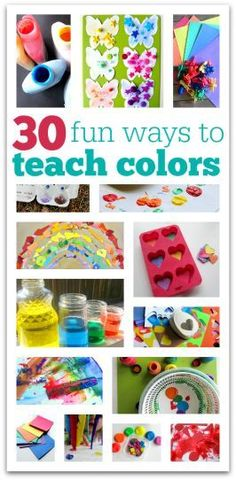teach colors preschool