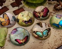 Butterfly Paperweights