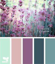 Would make for nice quilt colours Color Palette - Paint Inspiration- Paint Colors- Paint Palette- Color- Design Inspiration Colour Pallette, Colour Schemes, Color Combos, Spring Color Palette, Color Palate, Color Schemes For Websites, House Color Schemes Interior, Peacock Color Scheme, Vintage Colour Palette